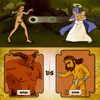Bible Fight: Screenshot