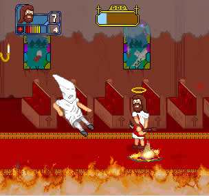 Jesus The Arcade Game Screenshot
