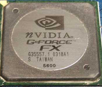 GPU chip GeForce FX 5600