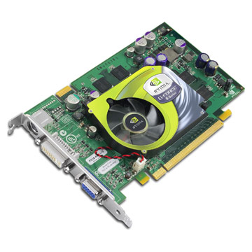 Nvidia GeForce 6 6600GT card