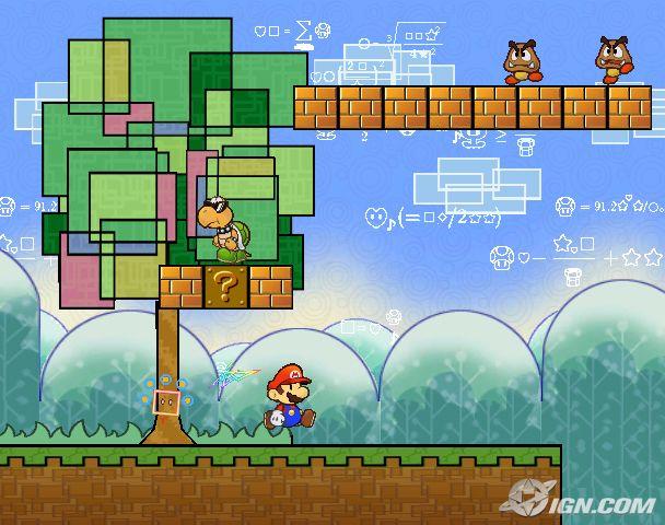Super Paper Mario en 2D