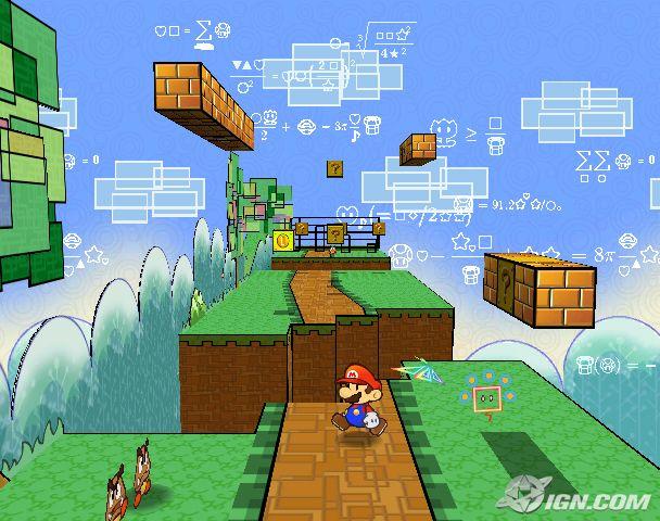 Super Paper Mario en 3D