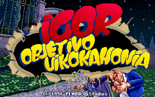 Igor: Objetivo Uikokahonia screenshot: Intro