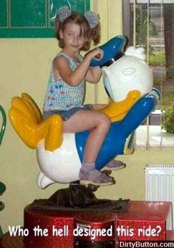 Donald Duck ride