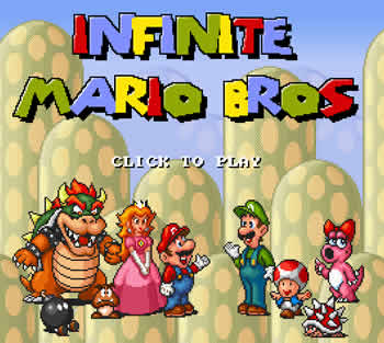 Infinite Mario Bros screenshot