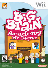 Big Brain Academy Wii Degree - Portada