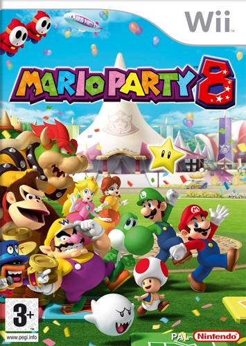 Mario Party 8 Caratula